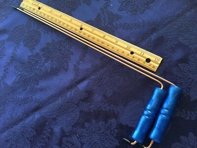 8 IN X 4 DOWSING RODS FIND WATER DRAINS LOST ITEMS GET YES