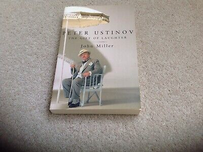 Peter Ustinov The Gift Of Laughter By John Miller Paperback Book Like New