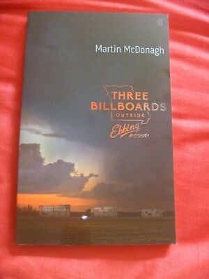Three Billboards Outside Ebbing Missouri by Martin McDonagh New Paperback Book