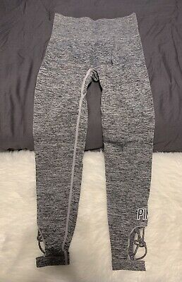 b14e96290339a4 WOMEN'S VICTORIA SECRET Pink Legging Size Small - $15.50 | PicClick