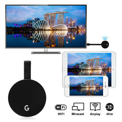 G5 1080P TV Dongle Wifi Display Receiver Airplay Miracast Media Streaming AH377