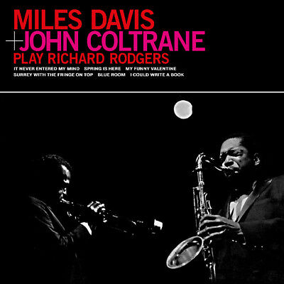 DAVIS Miles JOHN COLTRANE Play Richard Rodgers Vinyl Only 300 pressed NEW sealed