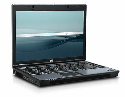 "PC PORTATILE  HP BLUE 6510B CORE DUO @ 2000 MHZ!! 4GB ram!! 200 HD WIN 7 14"" WIa"