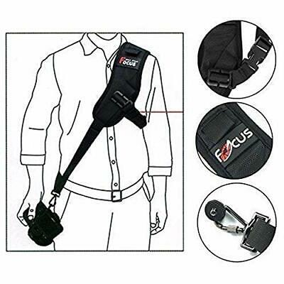 Focus F-1 Quick Rapid Single Shoulder Sling Belt Strap for Camera DSLR UK STOCK