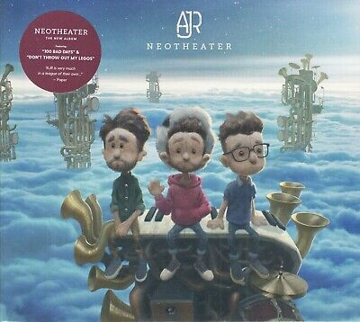 AJR - NEOTHEATER - Brand New - Factory Sealed CD - FREE SHIPPING!