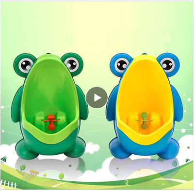 Wall-Mounted Baby Boy Potty Toilet Training Frog Urinal Boys Penico Toddle Pee