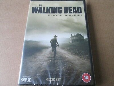 The Walking Dead - Series 2 - Complete (DVD 4-Disc Box Set) NEW AND SEALED REG 2