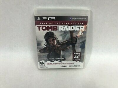 Tomb Raider Game of the Year Edition for Playstation 3 (HE3002638)