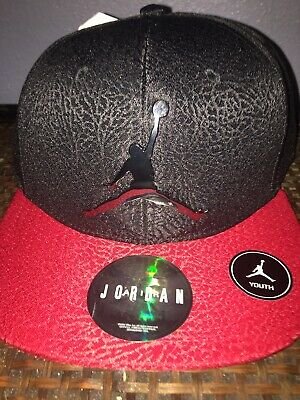 e11e53a9ad55cd New Nike Jordan Jumpman 23 Youth SnapBack Hat Cap Size 8 20 Black Gym