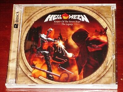 Helloween: Keeper Of The Seven Keys - The Legacy 2 CD Set 2019 Bonus Tracks NEW