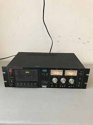 TASCAM 112 Professional Rackmount Cassette Deck (untested)