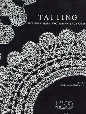 Tatting Designs from Victorian Lace Craft PATTERN/INSTRUCTIONS/NEW