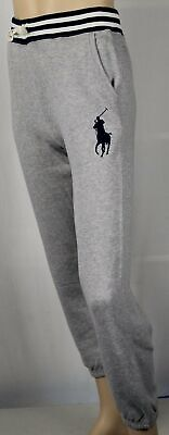 Polo Ralph Lauren Jeunesse Gris Polaire Pantalon Survêtement Grand