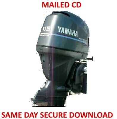 YAMAHA F115 OUTBOARD Motor Service Manual Library 2006 -2013