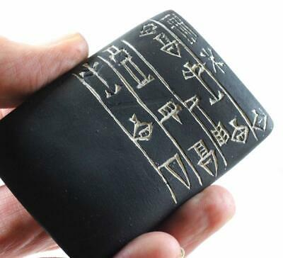 GUDEA TABLET Sumerian Cuneiform 2090 BC Prayer to Goddess museum replica
