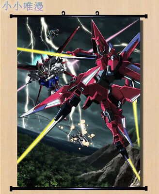 Anime MOBILE SUIT GUNDAM Home Decor Wall Scroll Decorate Poster 50X70cm D364