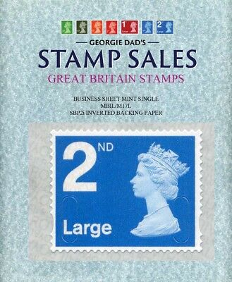 12/12/2017 2nd Large Class MBIL/M17L BS Mint Single SBP2i Inverted Backing Paper