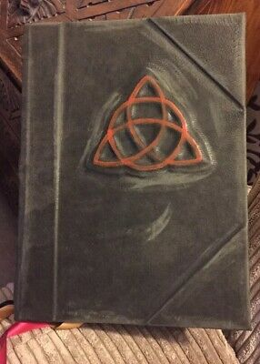✨**CHARMED BOOK OF SHADOWS✨REPLICA! PROP! Not Dvd Set!✨TV WITCHES✨WICCA ✨EASTER✨