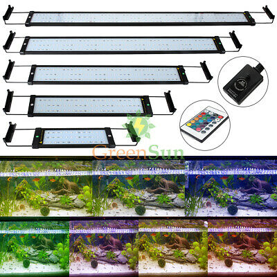 LED Light Bar 5050 SMD Full Spectrum Aquarium Fish Tank Submersible Plug&Play UK