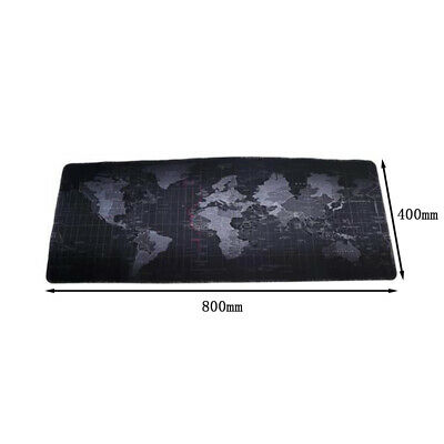 World Map Design Extended Gaming Wide Large Computer Mouse Pad Desk Mat Big Size