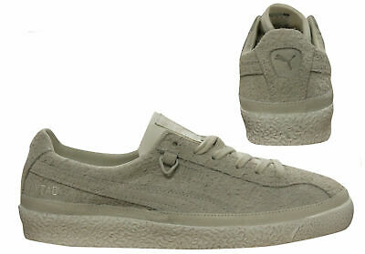 PUMA X OUTLAW Moscow Te Ku Mens Lace Up Trainers Distressed