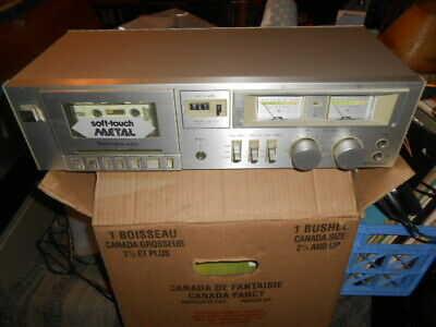 Technics M205 Cassette Tape Deck Component Tested & Working