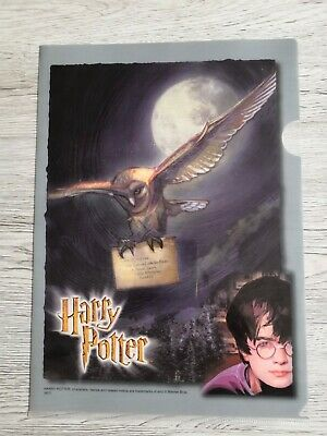Rare harry potter Clear File - Wizarding World