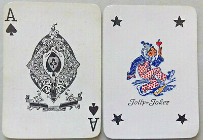 Antique Playing Cards Extremely Rare Deck With A Unique Joker Wide Austria 1920