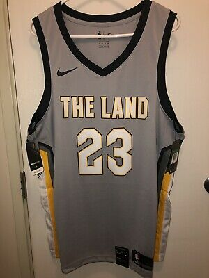 d855b3b2 Lebron James Cleveland Cavaliers The Land Jersey Size XL 52 Nike Brand New