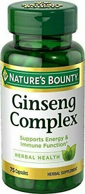 Nature's Bounty® Ginseng Complex 75 Capsules