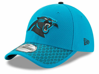 15ffc6815fbd4 CAROLINA PANTHERS NEW Era 39Thirty Official Sideline Team Colors ...