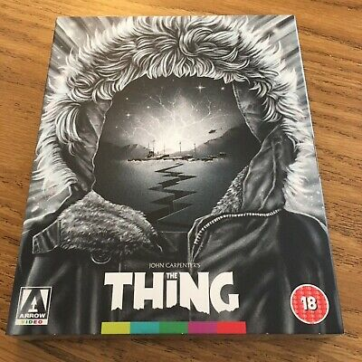 The Thing (Bluray) Arrow Video Blu-ray Region B (With Slipcover) New!