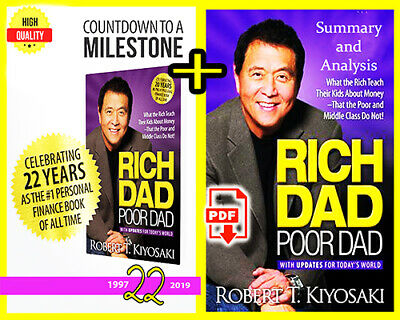 Rich Dad Poor Dad + Summary and Analysis + Surprise gift