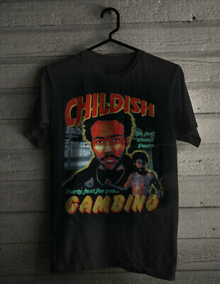 Childish Gambino This is America Tour merch T-Shirt We Just wanna Party S-2XL