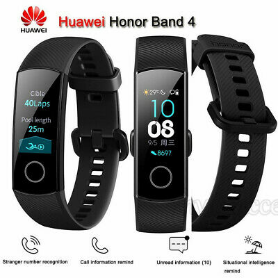 "Für Huawei Honor Band 4 Smart Watch Wristband Amoled Color 0.95"" Touchscreen"