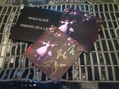 Wolf Alice Signed Cd Album Digipak Visions Of A Life New Mercury Prize Proof