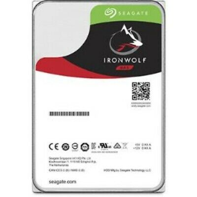 "NEW SEAGATE ST6000VN0033 IRONWOLF NAS HDD 3.5"" 6TB SATA 7200RPM 256MB CACHE.c."