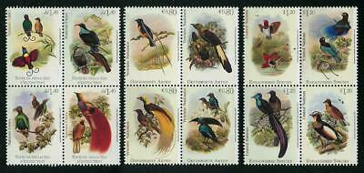 HERRICKSTAMP NEW ISSUES UNITED NATIONS Endangered Species 2015 Birds of  Paradise