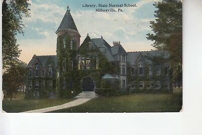 Library State Normal School Millersville PA