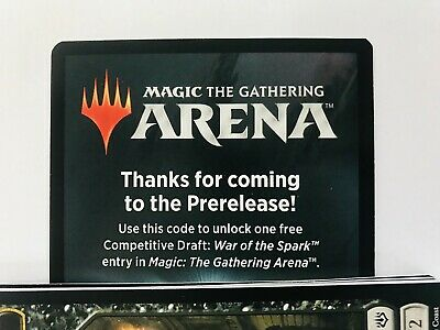 MTG ARENA Competitive Draft Code: WAR OF THE SPARK