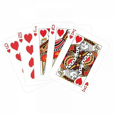 Decks of Professional Plastic Coated Playing Cards Poker Size New UK Seller