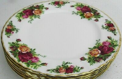 Royal Albert OLD COUNTRY ROSES salad plate 1962 made in England up to 6 in stock