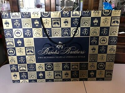 brooks brothers Empty Gift Bag