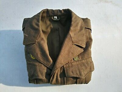 WW2 US Army Air Corps Corporal Ike Jacket Size 36S Dated April 18 1945