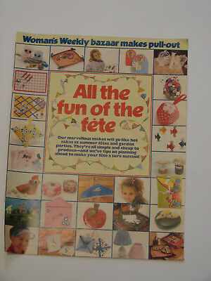 Sewing Pattern Instructions Woman's Weekly Bazaar Makes Pull-Out