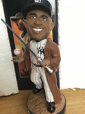 2019 New York Yankees CC Sabathia Star Wars Bobblehead Jedi NY Stadium W Ticket