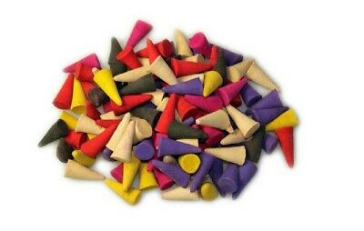 50s Incense CONES High Quality Scent Assorted Mixed Random Natural Made INDIA E
