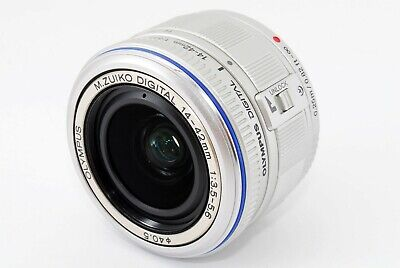 OLYMPUS M.ZUIKO DIGITAL 14-42mm F3.5-5.6 L ED Lens from Japan [Very good] #43344