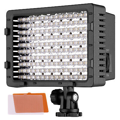 Neewer 160 LED CN-160 Dimmable Ultra High Power Panel Digital Camera for Canon