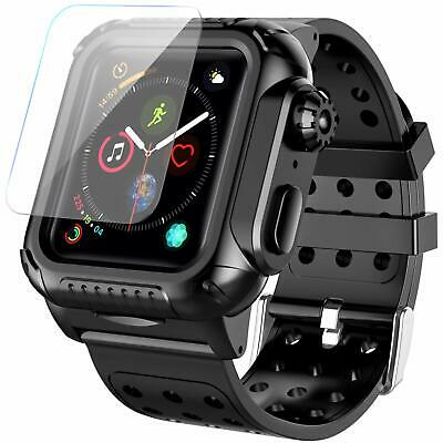 Apple Watch Series 4 Case iwatch Screen Protector Tough Armor 44mm Shockproof